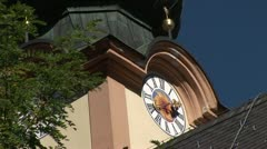 Church in Austria, Europe Stock Footage
