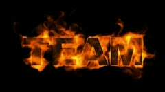 team text,fire business key words. - stock footage