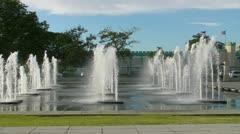 Fountain 9 Stock Footage