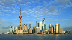 "Shanghai Time Lapse(including Static and zoom).>>>Search: ""ShanghaiSkyline"" - stock footage"