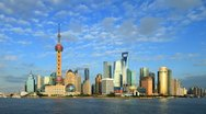 Stock Video Footage of Shanghai Time Lapse(including Static and zoom.).