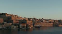 Dawn in Valetta - stock footage
