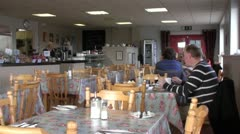 Stock Video Footage of Restaurant
