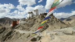 Ladakh. Norh India. Tibet. - stock footage