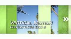 Vertical Motion - After Effects Template - stock after effects