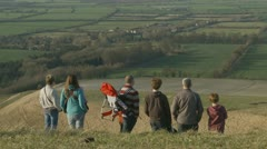 A day in the English countryside (six) Stock Footage