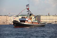 steamship - stock photo
