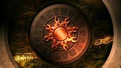 Maya Calendar Animation - HD Loop 164 Stock Footage