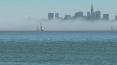 San Francisco Sailboats Timelapse 01 HD - stock footage