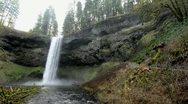 Oregon waterfall, Silver Creek Stock Footage