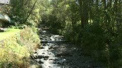 Small River in Alps Stock Footage