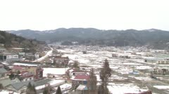 Japan tsunami : one year after Stock Footage