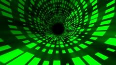 Dance Floor Tunnel Stock Footage