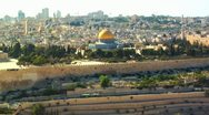 Stock Video Footage of 047 DOME OF THE ROCK JERUSALEM