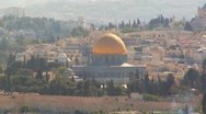 Stock Video Footage of 056 ZOOM OUT DOME OF THE ROCK