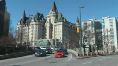 Chateau Laurier Stock Footage