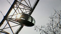 The London Eye 4 HD Stock Footage