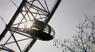 Stock Video Footage of The London Eye 4 HD