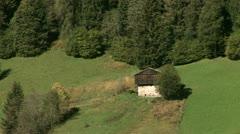 Landscape in Alps, Austria Stock Footage