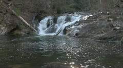 Kent Falls 21 Stock Footage