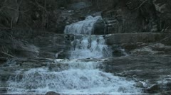 Kent Falls 17 Stock Footage