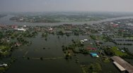 Stock Video Footage of Thailand Flood aerials Oct 25 file 0029 3