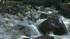 Water rushing Stock Footage