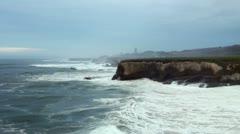 California Cliffs 04 - widest Stock Footage