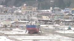 Kesennuma Stock Footage