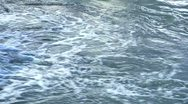 Water current with foam Stock Footage
