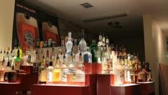Austin Texas Bartender Tending Bar Stock Video Stock Footage