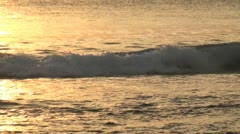 Sunset on the Indian Ocean (Indonesia) Stock Footage