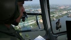 Thailand Flood aerials Oct 25 file 9954 Stock Footage
