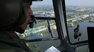 Stock Video Footage of Thailand Flood aerials Oct 25 file 9954