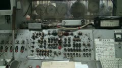 The old control panel Stock Footage