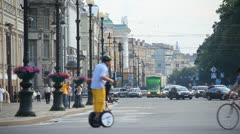 streets of st. petersburg - stock footage
