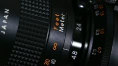 Super 8 Camera Film Stock Footage