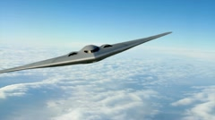 B-2 Stealth Bomber - stock footage