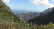 Stock Video Footage of La Gomera, Landscape, Barranco de Monteforte