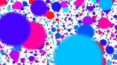 Color stains Stock Footage