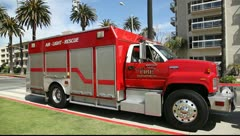 Los Angeles Fire Department Stock Footage