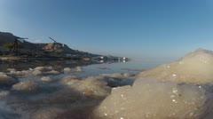 Dead sea gopro timelapse  0112 1 Stock Footage