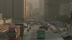 Foxconn electronic factory in Shenzhen, China Stock Footage