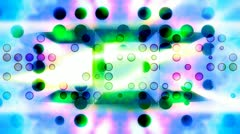 Geometric Bright Backdrop Looping Animated Background Stock Footage