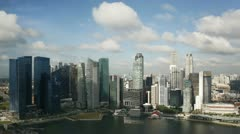 Central Singapore, South East Asia, T/L Stock Footage