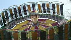 Amusement park - stock footage