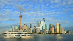 "Shanghai Time Lapse.>>>Please search more similar: ""ShanghaiSkyline"" - stock footage"
