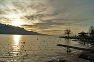 Stock Photo of Switzerland, Vevey