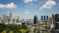 Fort Canning Park, Singapore, T/L Stock Footage