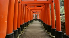 Fushimi Inari shrine Stock Footage
